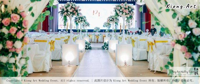 Kuala Lumpur Wedding Event Deco Wedding Planner Kiong Art Wedding Event 吉隆坡一站式婚礼策划布置 Klang Commercial Convention Centre KCCC 巴生皇城商务会展中心 C01-018