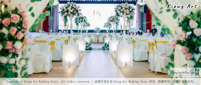 Kuala Lumpur Wedding Event Deco Wedding Planner Kiong Art Wedding Event 吉隆坡一站式婚礼策划布置 Klang Commercial Convention Centre KCCC 巴生皇城商务会展中心 C01-018