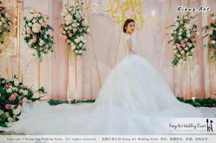 Kuala Lumpur Wedding Event Deco Wedding Planner Kiong Art Wedding Event 吉隆坡一站式婚礼策划布置 Klang Commercial Convention Centre KCCC 巴生皇城商务会展中心 D01-015