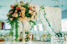 Kuala Lumpur Wedding Event Deco Wedding Planner Kiong Art Wedding Event 吉隆坡一站式婚礼策划布置 Klang Commercial Convention Centre KCCC 巴生皇城商务会展中心 A01-007