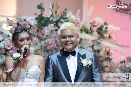 黑哥与林云姐 婚礼 Khen Chua and Leng Yein Wedding at KLCC Convention Centre Declaration of Love 爱的宣言 马来西亚 全民姐姐 Kuala Lumpur Wedding Event Deco Wedding Kiong Art Wedding Event 吉隆坡一站式婚礼策划布置 D01-021