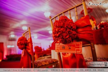 Kuala Lumpur Wedding Event Deco Wedding Planner Kiong Art Wedding Event 吉隆坡一站式婚礼策划布置 Klang WK Banquet Hall Oriental Traditional Culture Wedding 东方传统文化婚礼 A01-016
