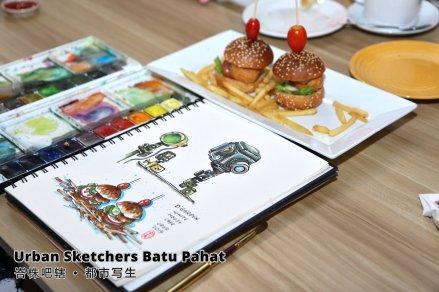 Urban Sketchers Batu Pahat 峇株吧辖 都市写生 B002