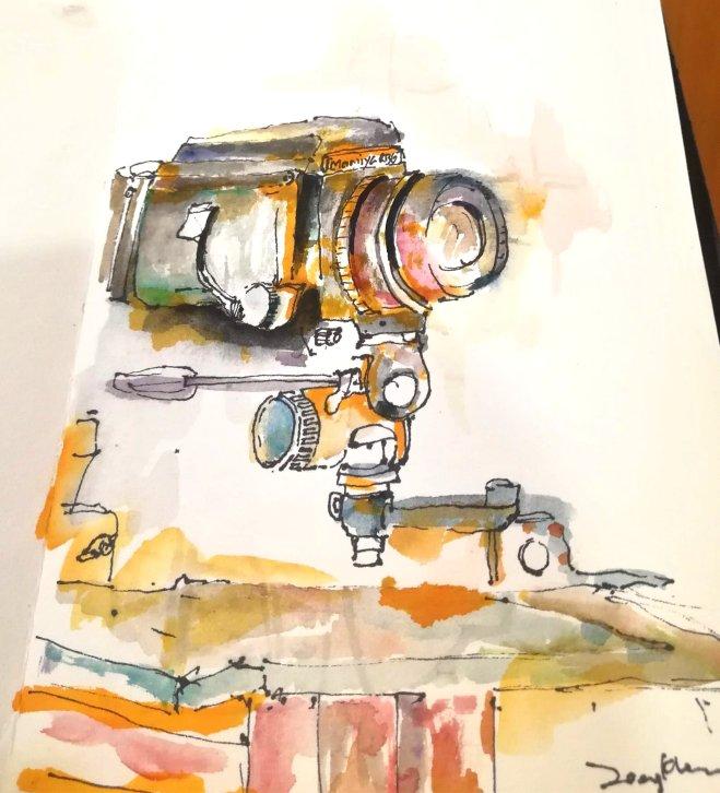 Urban Sketchers Batu Pahat 峇株吧辖 都市写生 C002