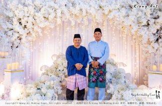 Kuala Lumpur Wedding Event Deco Wedding Planner Kiong Art Wedding Event Malay Wedding Theme Tema Perkahwinan Melayu A01-033
