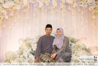 Kuala Lumpur Wedding Event Deco Wedding Planner Kiong Art Wedding Event Malay Wedding Theme Tema Perkahwinan Melayu A01-077