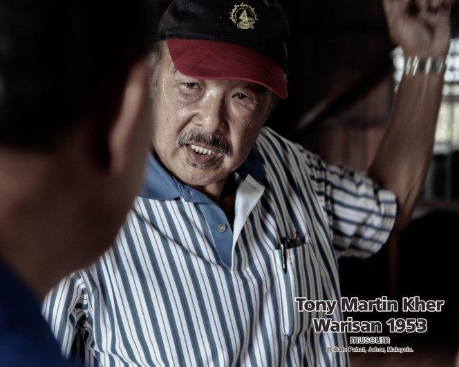 Tony Martin Kher founder of Warisan 1953 Museum at Batu Pahat Johor Malaysia Heritage 1953 Artist Joey Kher A25