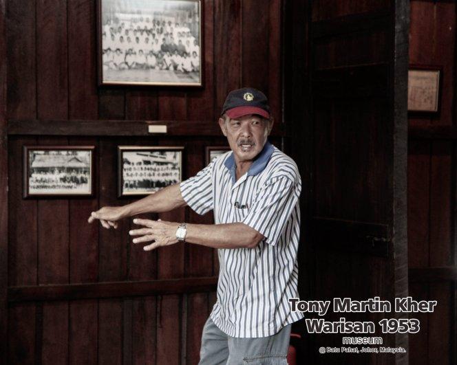 Tony Martin Kher founder of Warisan 1953 Museum at Batu Pahat Johor Malaysia Heritage 1953 Artist Joey Kher A26