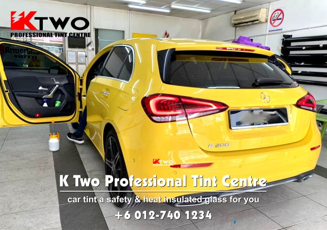 Batu Pahat Car Tint Batu Pahat Car Tinted Automotive Tinted Window Tinted K Two Professional Tint Centre Safety and Heat Insulated Glass B08