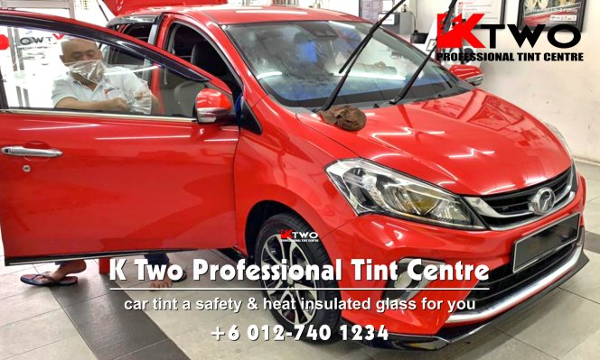 Batu Pahat Car Tint Batu Pahat Car Tinted Automotive Tinted Window Tinted K Two Professional Tint Centre Safety and Heat Insulated Glass B10