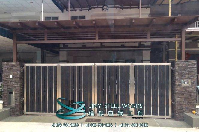 Jinyi Steel Works Pengilang Produk Besi dan Keluli Tahan Karat Menyesuaikan dan Memasangnya Untuk Anda Johor Melaka Negeri Sembilan Kuala Lumpur Selangor Pahang Batu Pahat Stainless Steel B12
