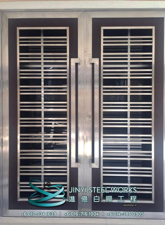 Jinyi Steel Works 铁与不锈钢产品制造商 为您定制钢铁产品与安装 柔佛 马六甲 森美兰 吉隆坡 雪兰莪 彭亨 峇株巴辖 不锈钢制造商 B26