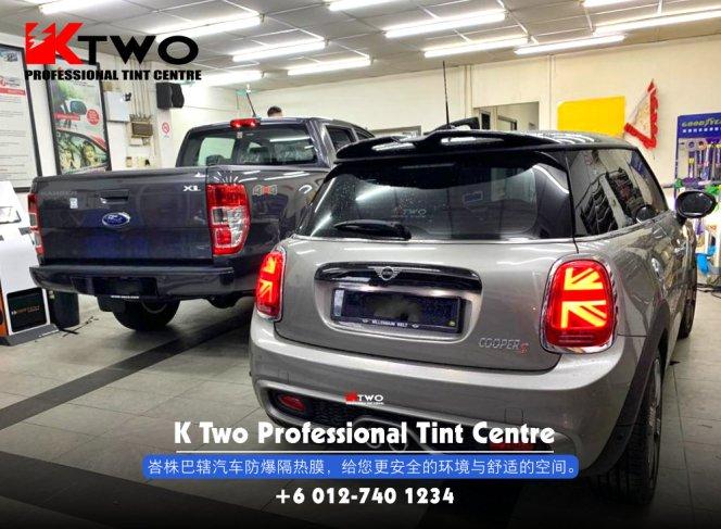 K Two Professional Tint Centre 汽车车镜防爆挡光纸 办公室玻璃窗户防爆隔热膜 B12