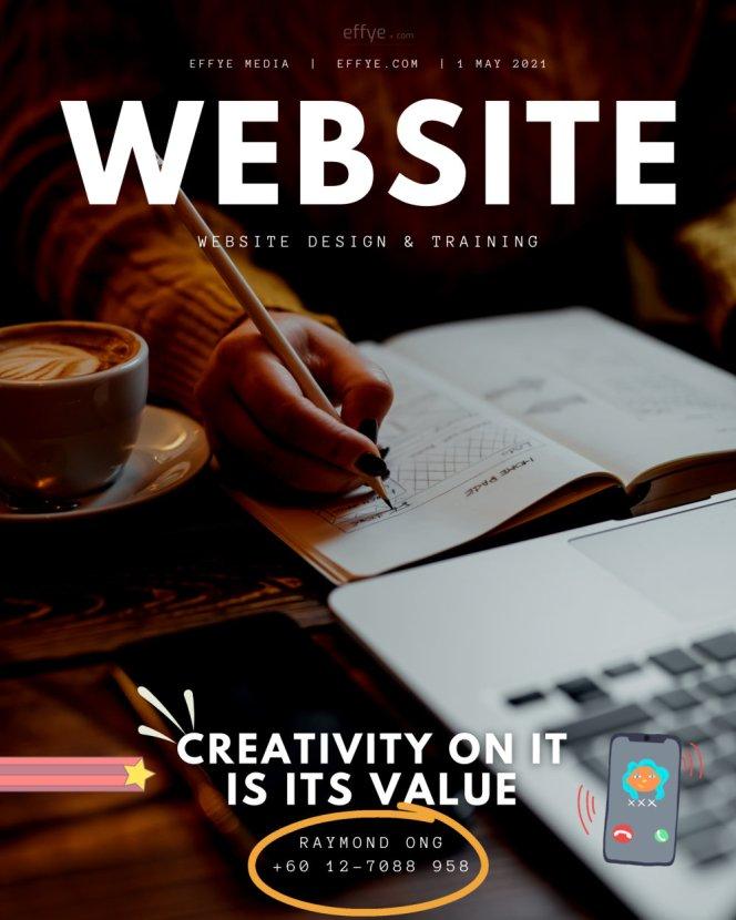 飞设计 effye media 网站设计公司 马来西亚网站设计服务与训练公司 媒体广告服务公司 峇株吧辖网站广告公司 Raymond Ong 设计 A03-1