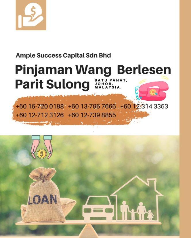 Pinjaman Wang Parit Sulong Pinjaman Wang Batu Pahat Pinjaman Wang Muar Pinjaman Wang Berlesen Parit Sulong Loan Ample Success Capital A23