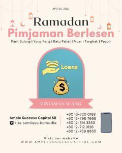 Pinjaman Wang Parit Sulong Pinjaman Wang Batu Pahat Pinjaman Wang Muar Pinjaman Wang Berlesen Parit Sulong Loan Ample Success Capital A02