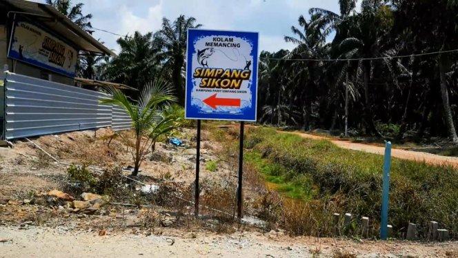 Kolam Memancing Simpang Sikon - Kolam Memancing Ikan Parit Raja Batu Pahat Johor Malaysia B03