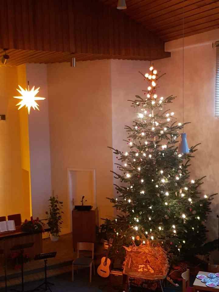 Tannenbaum zu Weihnachten
