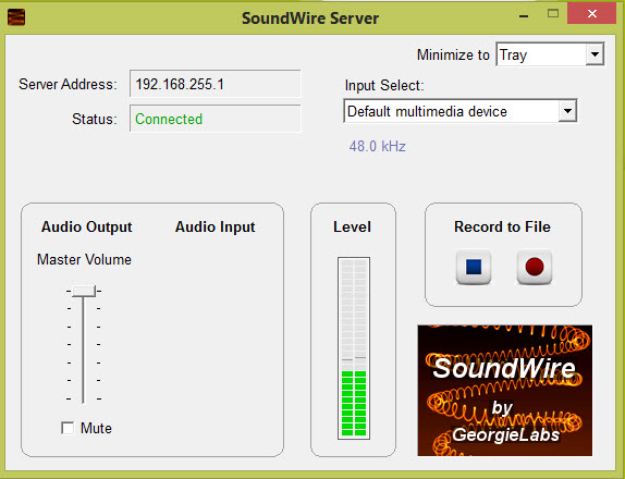 SoundWire - pc