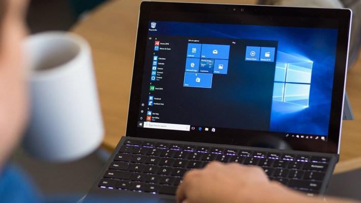 تثبيت أحر اصدار من 10 Windows