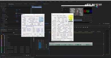 Hỏi đáp nhanh #3: Lên cấu hình dựng phim và chỉnh màu cơ bản