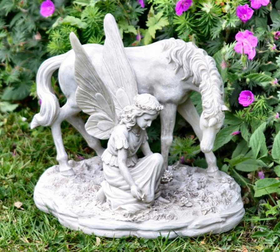 Fairy Statues For The Garden Ideas