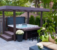 Irresistible Hot Tub Spa Designs for Your Backyard That Will Upgrade Your Home 12
