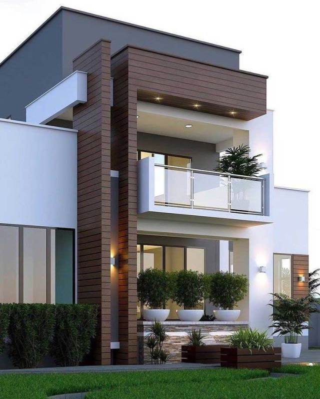 Most Popular Modern Dream House Exterior Design Ideas