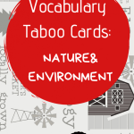 ESL holiday vocabulary taboo