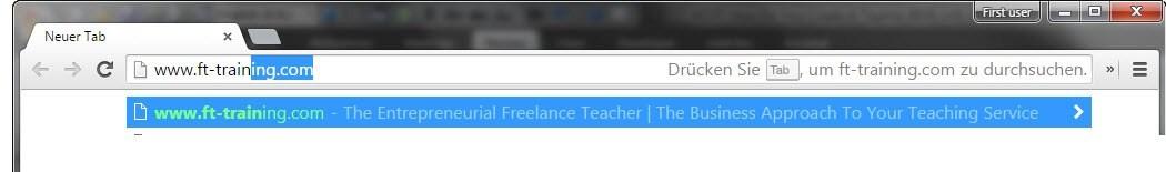 EFTT URL address