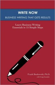 Write Now: Business Writing That Gets Results