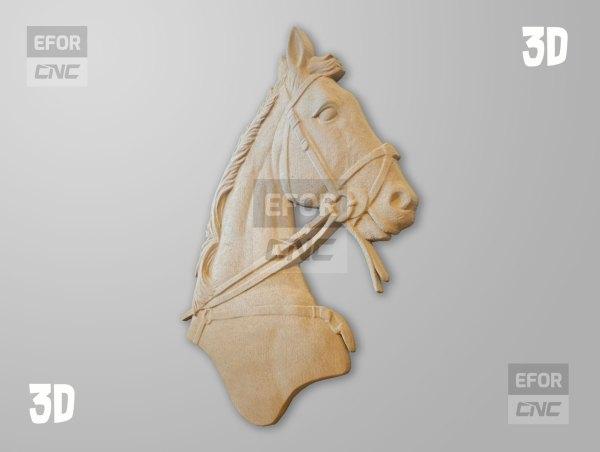 3D Cnc Hayvan Figürü