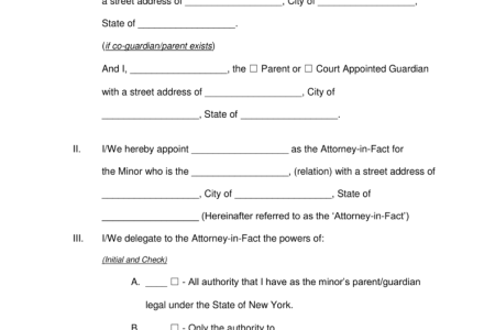 Louisiana Temporary Guardianship Form Free Standard Forms