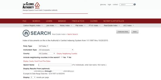 GA title search 4
