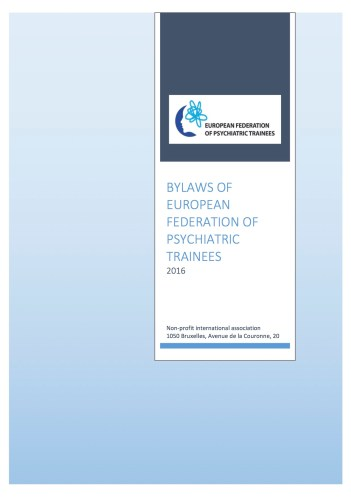 bylaws cover page