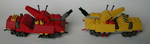 Two OGRE MK IIIs face off