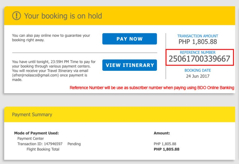 Book-Online-Cebu-Pacific-Confirm Payment