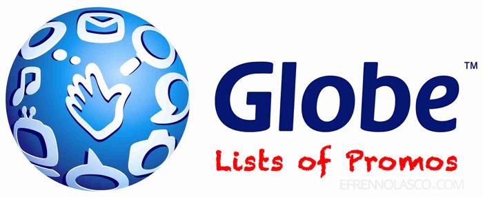 Globe promos