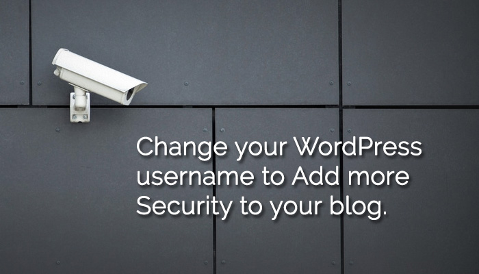 Change-wordpress-username