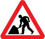 Road Construction traffic Sign
