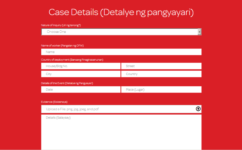 POEA Legal Counsel Online