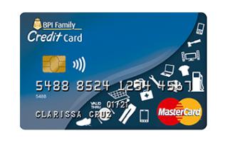 BPI Family Credit Card - BPI