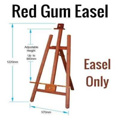 Easel – Red Gum Finish