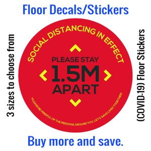 Coronavirus (COVID-19) Floor Sticker – 05