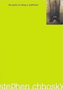 book cover: the perks of being a wallflower
