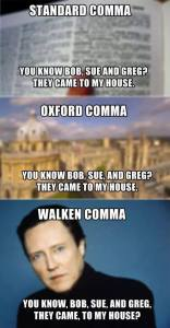walken comma