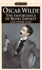 importance of being earnest_cover