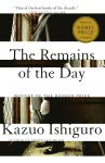 book cover: the remains of the day