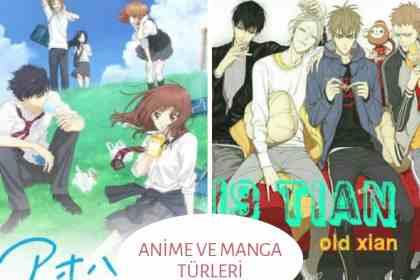 anime-ve-manga-turleri