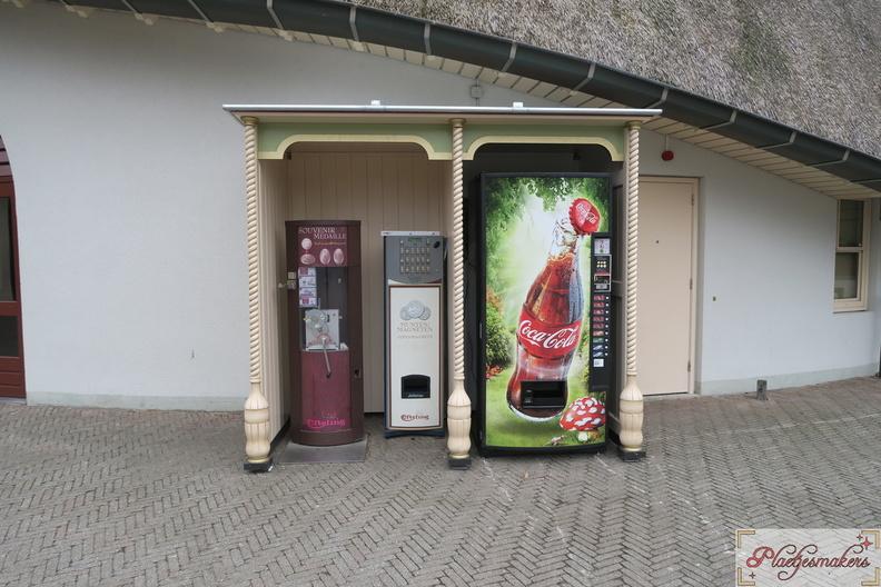 Nieuwe hokjes voor automaten